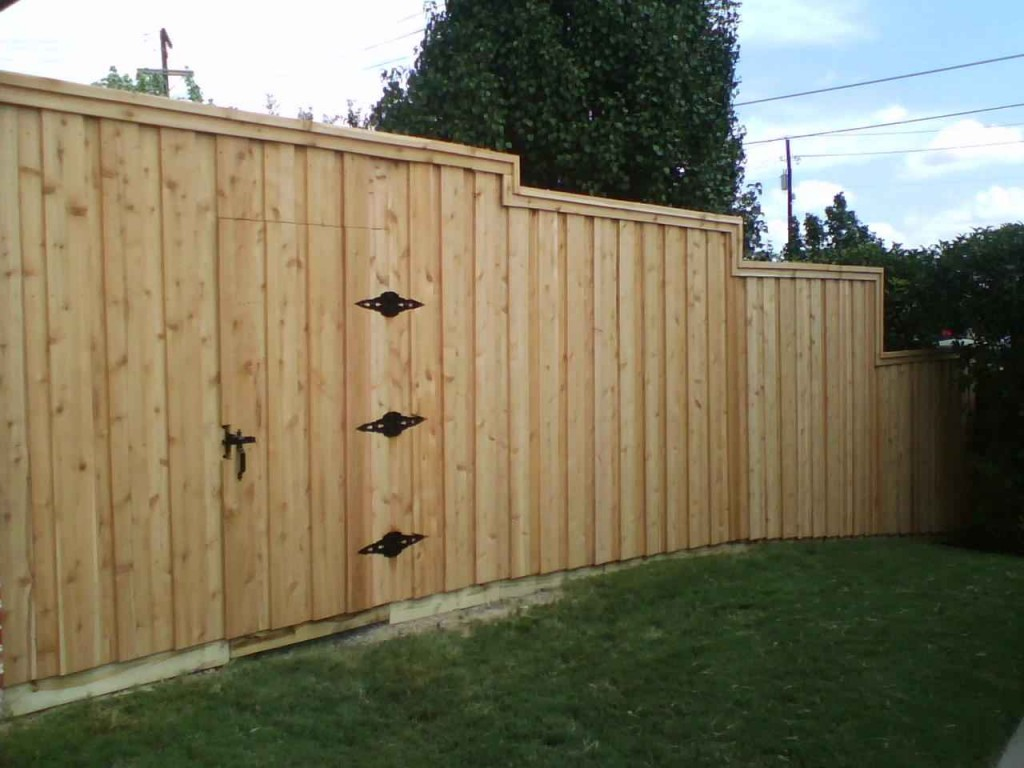 Board On Board Fence 8 Ft Metal Posts Fence Companies