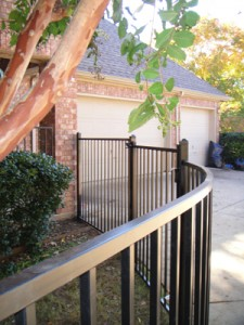 wrought iron fences Denton tx handrails pool fences