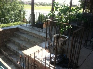 wrought iron fences Lewisville tx handrails pool fences