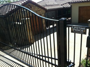 automatic sliding electric driveway gate highland village tx