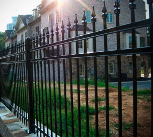 wrought iron fences garland tx metal fence companies