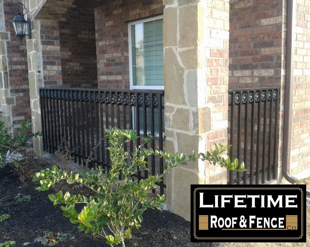 Wrought Iron Porch Fence Fence Companies Gate
