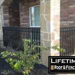 Wrought Iron Porch Fence