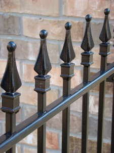 metal fence finials metal fence decorative top
