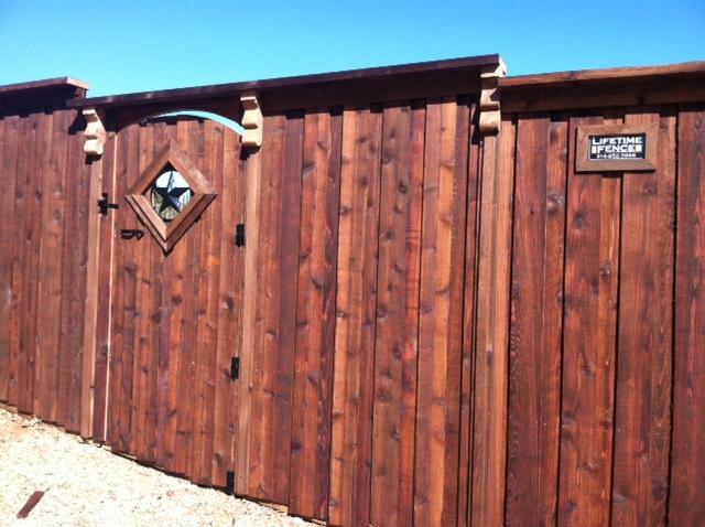 Privacy Fences Keller Tx Cedar Wood Board On Board