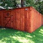 board on board fence frisco tx cedar wood privacy fences
