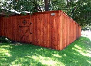 Wood fence construction and repair | Serving the Lake Cities area (Corinth / Hickory Creek / Lake Dallas)