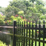steel fence decorative finials