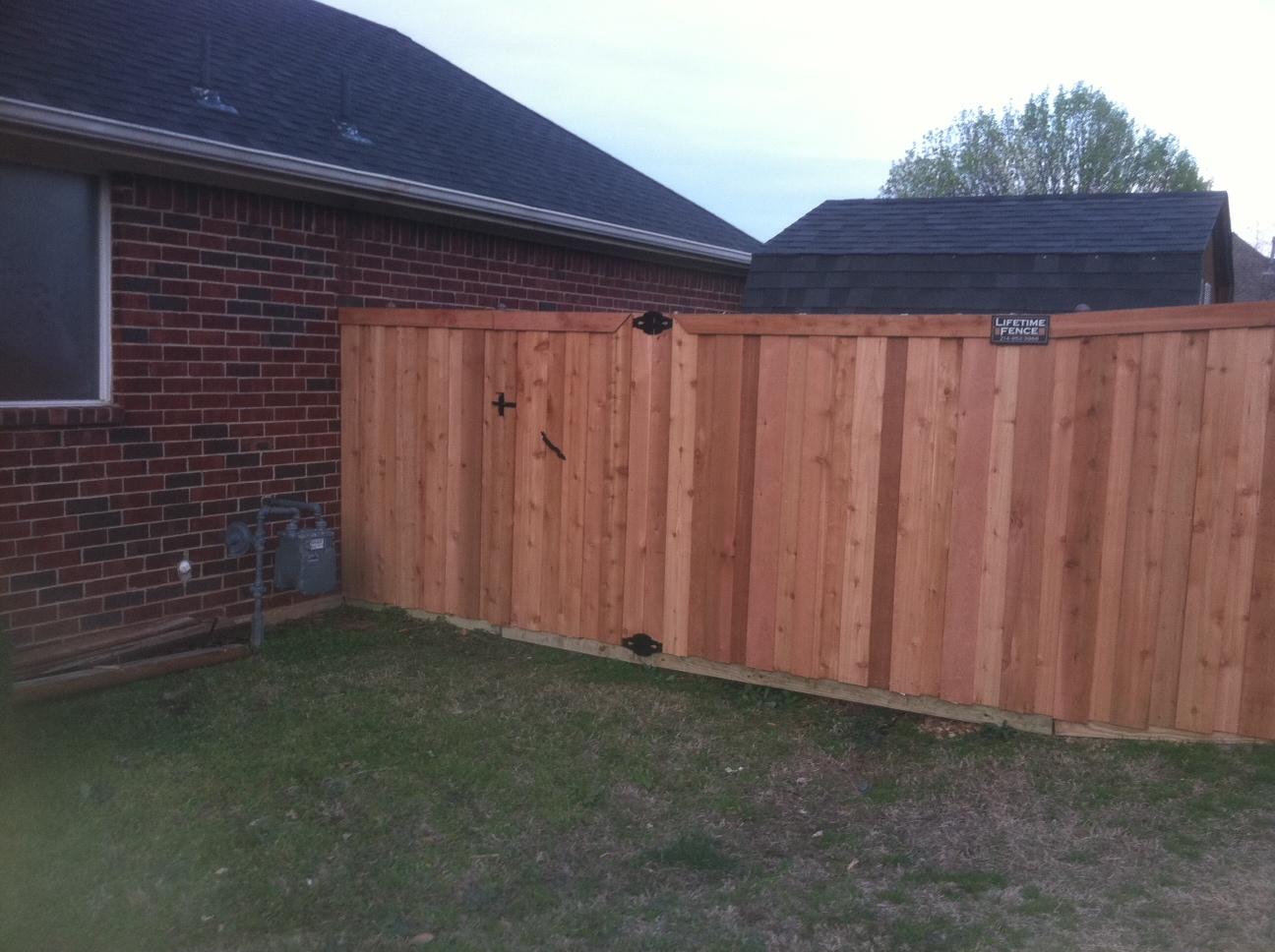 Wood Fence Companies Houston Tx Cedar Wood Fences Fence