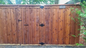 6 ft board on board gate cap