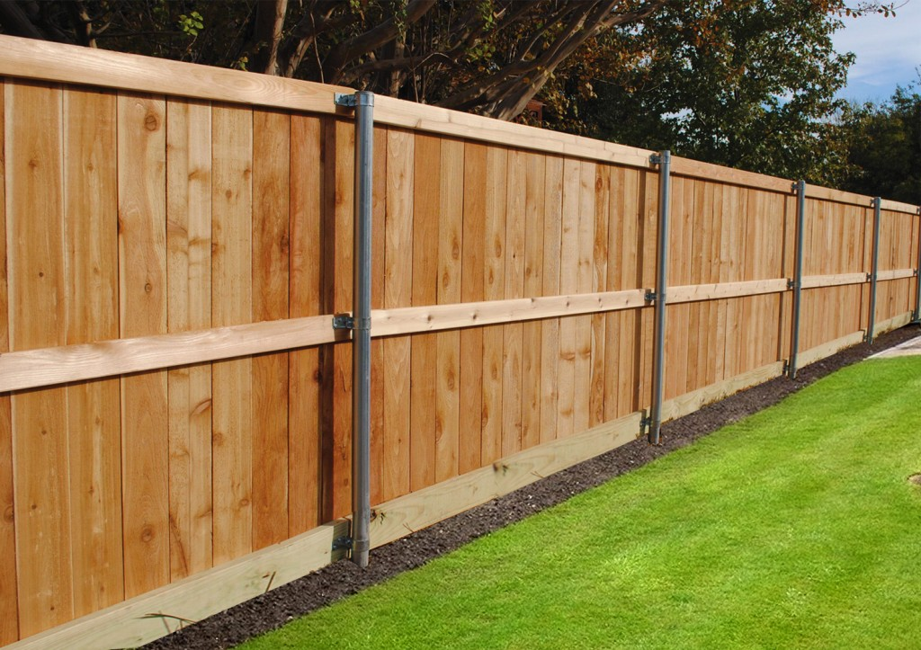 Standard Cedar Fence Un-stained