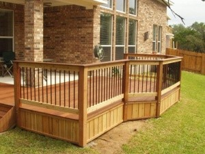 flower mound deck companies cedar deck builders flower mound