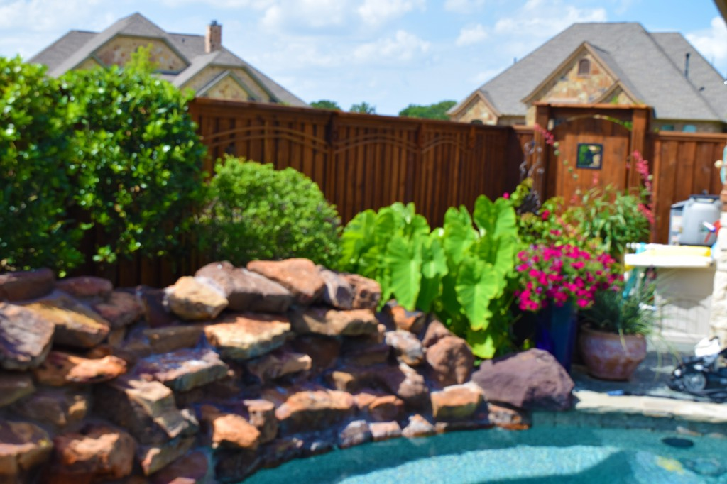 backyard fence options plano tx cedar wood fencing styles