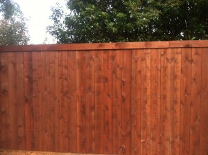 wood fences cedar wood fence