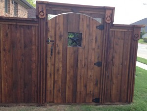 wood fences houston tx best quality cedar wood fences