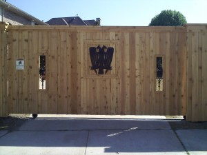 electric gate installation Denton tx