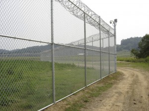 chain link fence barbed wire Denton tx security fences