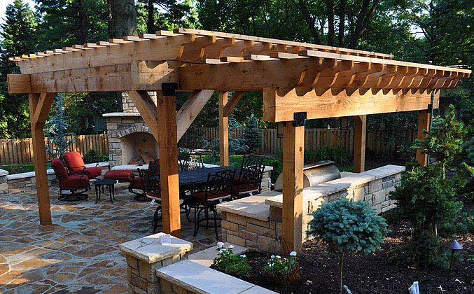Arbor and Deck Gallery (click to expand). Cedar Pergola - Arbors Pergolas Deck |Lifetime Outdoor Patio Cover Companies