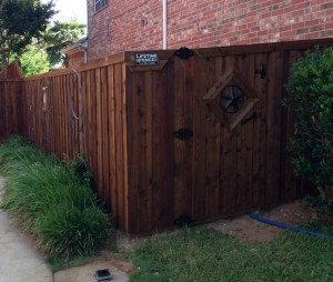 wood fences Houston tx cedar wood fences