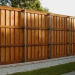 8 ft Cedar Wood Fence