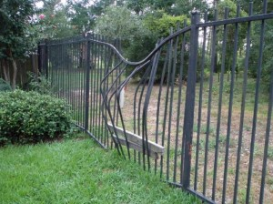iron fence repair Euless