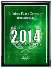 Denton Fence Companies Lifetime Fence Fences Companies