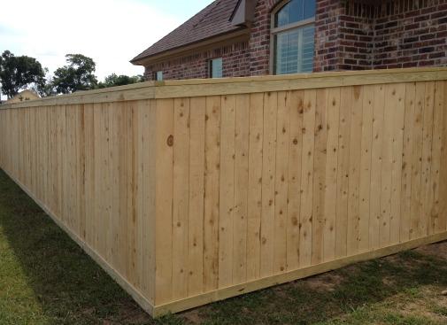 Basic Wood Fence