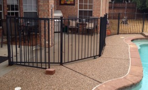 iron fence companies aubrey tx metal fences
