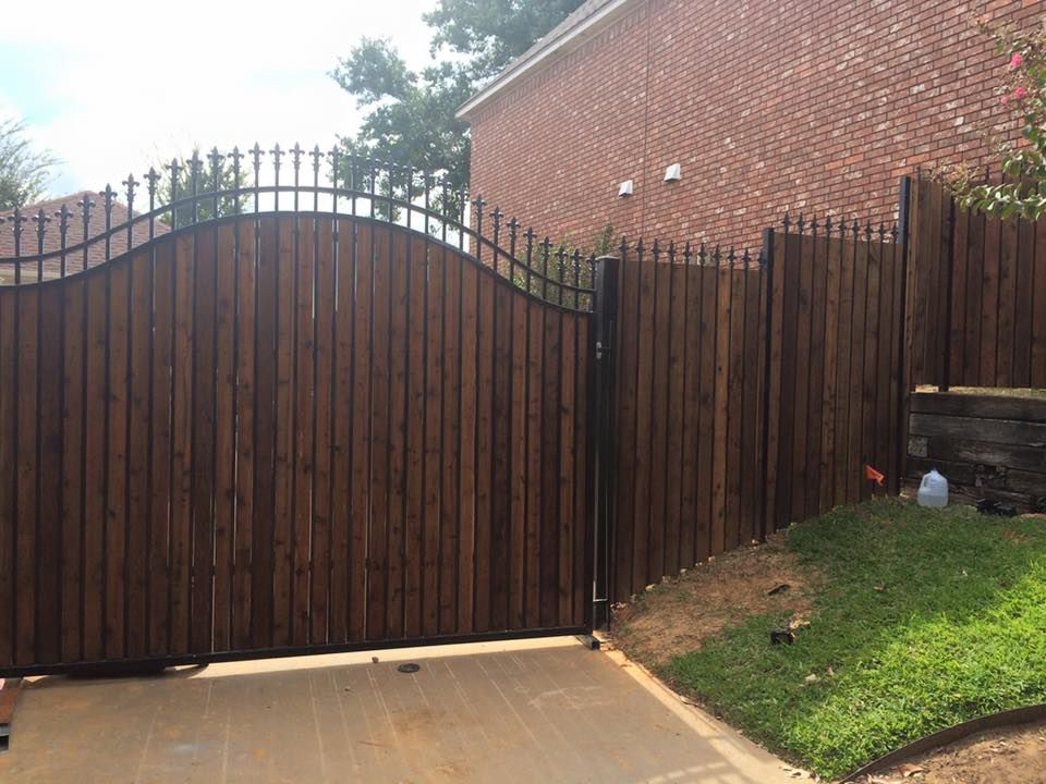 Automatic And Electric Gates Denton TX Driveway Gate