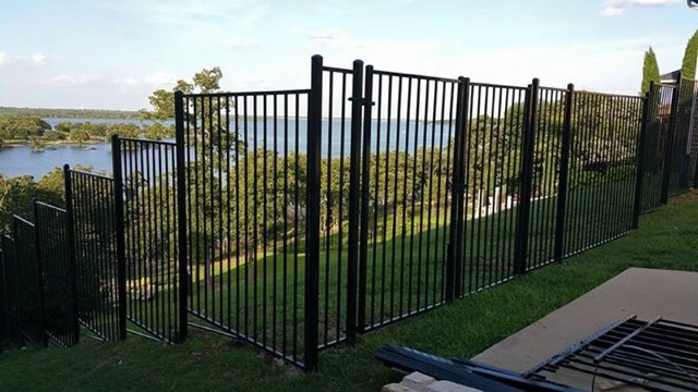 6 Ft Tall Basic Metal Fence Fence Companies Gate