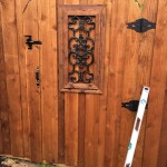 Lifetime Custom Wood Gate