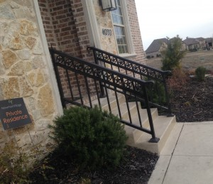 metal fence companies frisco aluminum fencing handrails