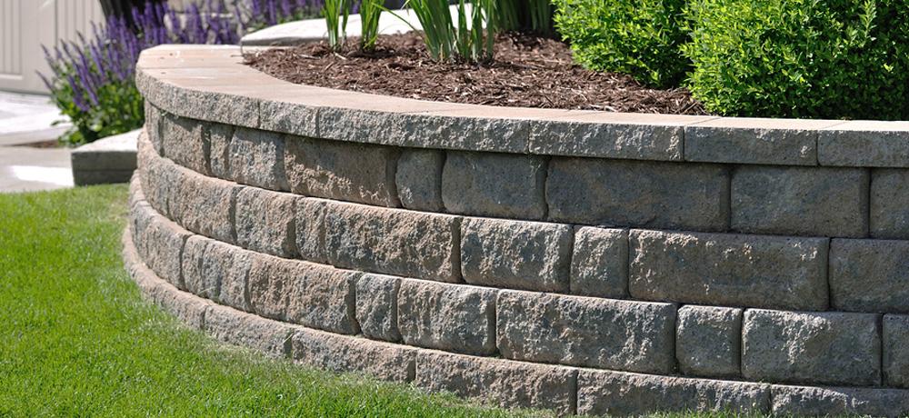 Retaining Walls Stone Rock Retaining Wall