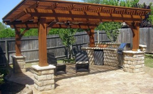 Backyard Patio Contractors Frisco | Concrete Companies | Concrete Patio Installation