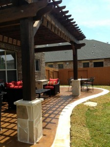 Frisco Arbor Builders Deck Contractors Pergola Companies Backyard Arbor Frisco TX