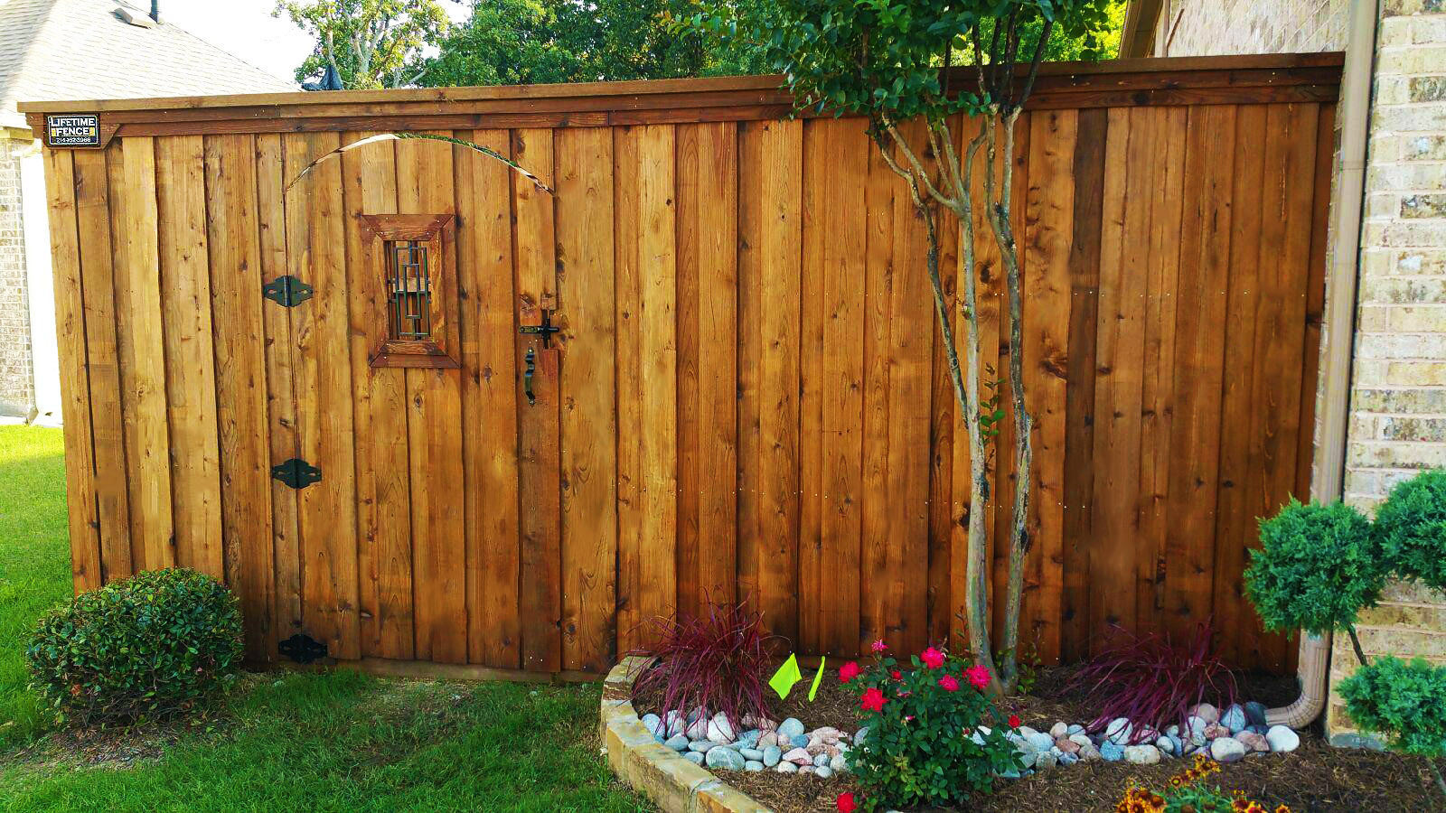 Fence Companies Dallas Tx Lifetime Fence Company Dallas
