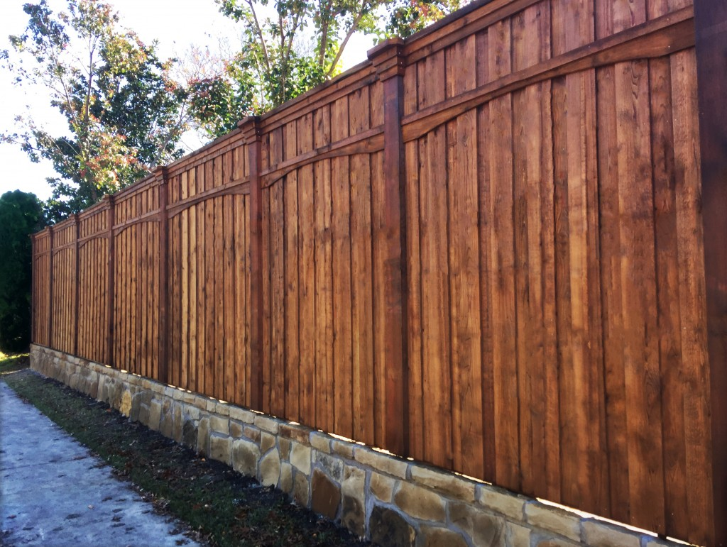 wood fence local plano tx fence company