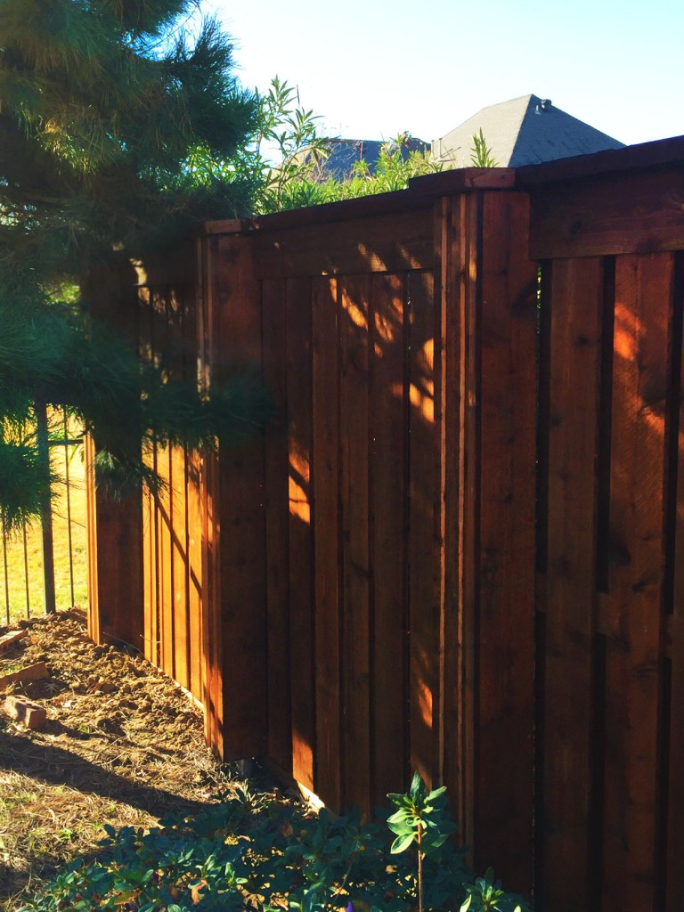 wood fences in allen tx cedar