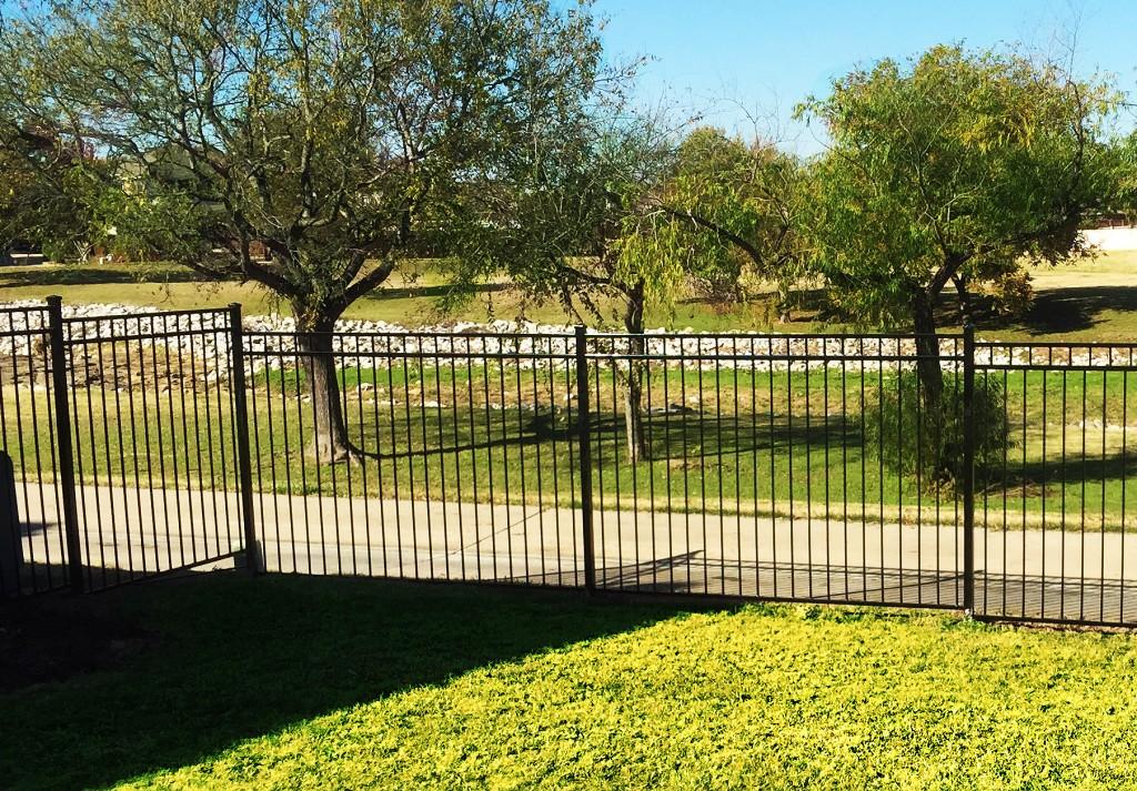 wrought iron fences allen metal fence