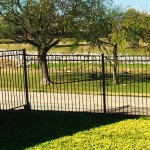 5 ft Metal Fence w/ Topper