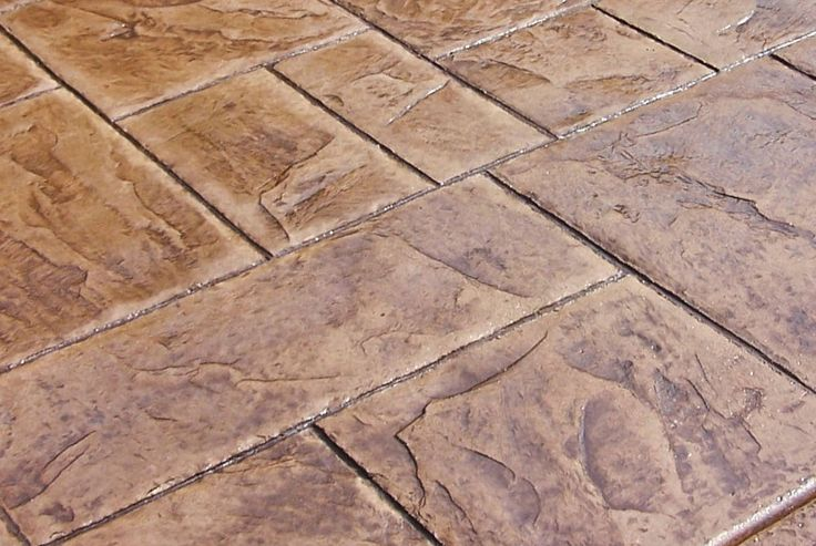stamped concrete patio Carrollton tx stained concrete patio company